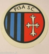 ADESIVO ORIGINALE anni '80 _ S.C. PISA Calcio (cm 9) Old Sticker Vintage
