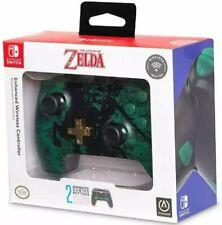 New: PowerA Enhanced Wireless Controller for Nintendo Switch - Link Silhouette Z
