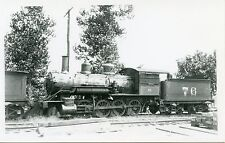 5H400C RPPC 1940/60s? SOUTHERN RAILROAD ENGINE #76 BOARDED UP SCRAP ?