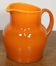 Vintage ERIK HOGLUND Modern Art Glass Pitcher Vase for BODA. Handblown Swedish