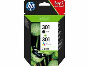 HP 301 Drucker Patronen Tinte OfficeJet 2620 4630 4632 2622 4634 N9J72A q