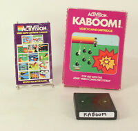 Boxed Atari 2600 game Kaboom! By Activision Tested & Working