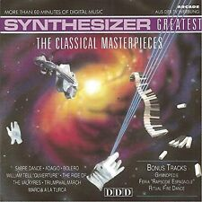 Synthesizer Greatest-Classical Masterpieces (1990) Bolero, Dance Macabre,.. [CD]