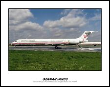 German Wings Airlines MD-83  11x14 Photo (D093LGJC11X14)