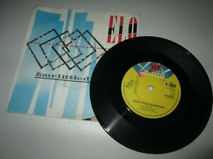 "Electric Light Orchestra Four Little Diamonds 1983 Vinyl 7"" Single B8"