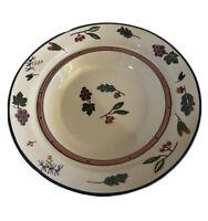 "1981 Hartstone Pottery  WOODLAND Pasta Serving Bowl - XL14-1/4"""