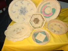 Woven baskets and like items,set of 6