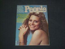1976 JULY 26 PEOPLE MAGAZINE - LINDSAY WAGNER, THE BIONIC WOMAN - B 4821