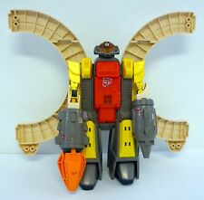 TRANSFORMERS OMEGA SUPREME Vintage G1 Action Figure Defense Base COMPLETE 1985