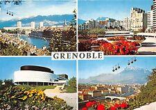 BR30650 Grenoble vue generale et telepherique de la Bastille cable train France
