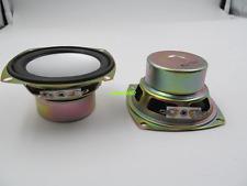 """2pcs 3""""inch 78mm 8ohm 8Ω 10W Full-range speaker anti-magnetic Loudspeaker"""