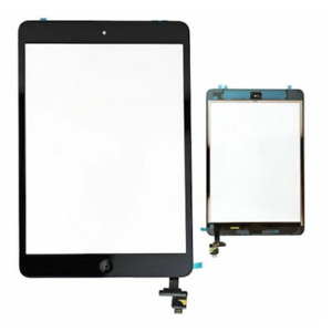 TOUCH SCREEN PER APPLE IPAD MINI 1 2_A1432 A1454 A1455 WIFI 3G VETRO NERO