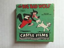 CASTLE FILMS THE BIG BAD WOLF 8MM Edition Black and White No. 760 VINTAGE FILM