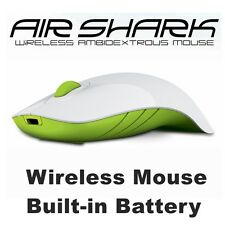 Wireless Mouse MorroLogic PC USB Quality Mobile Built-in Battery Mice Mac Green