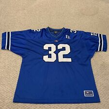 Duke University Blue Devils NCAA College Football Sewn Jersey Mens 2XL