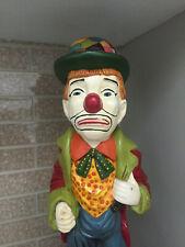Clown Rare And Unique Continental Studios Esco Style Statue