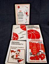 Lot of 5 IU Indiana University Basketball Fanatics Calendars 1984 85 86 87 88