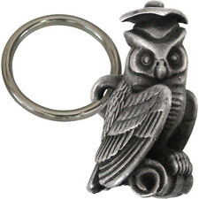 Graduation Owl Keychain or Zipper Charm