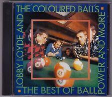 Lobby Loyde & The Coloured Balls - The Best Of Ball Power & More - CD Siren1996