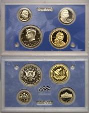 2009-S 4 Coin Proof Panel Cent Thru Dollar Original Hard Plastic No Box Or COA