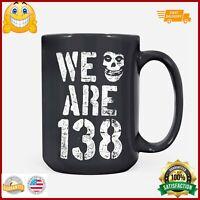 Misfits We are 183 TShirt SXXL Gildan UNISEX TShi LM07_Mug 15 oz. Black