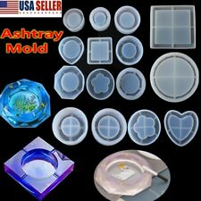 Silicone Ashtray Mold Resin Jewellery Making Moulds Handmade Flower Containers
