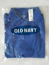 Nwt Old Navy School Uniform Long Sleeve Polo For Boys Bluetang Color Size 5