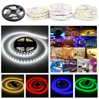 5M / 10M 12V Non Waterproof 300 LED Strip Light 5050 SMD String Ribbon Tape Roll