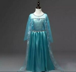Disfraz Elsa de frozen - 2, 3 y 4 años (especificar talla por mensaje)
