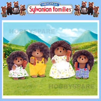 NEW SYLVANIAN FAMILIES HEDGEHOG FAMILY  DOLL FIGURE SET 4018
