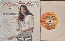 "AMY GRANT AGELESS MEDLEY 8-SONG 7"" EP VINYL RECORD + PICTURE SLEEVE MYRRH M001EP"