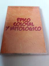 """DVD """"EPICO COLOSAL Y MITOLOGICO"""" PRECINTADO SEALED 5DVD BARZO DE HIERRO HERCULES"""
