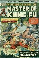 Master of Kung Fu (1974 series) #24 in Very Fine condition. Marvel comics [*jb]