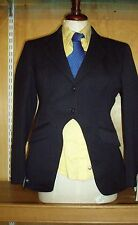 Child's Derby House Navy Cutaway Show Jacket Size 34""
