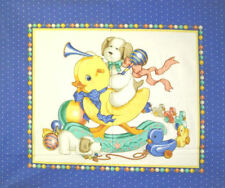 NEW LARGE RUBBER DUCKY BABY NURSERY PANEL QUILTS HOME BABY DECOR & PROJECTS