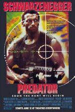 PREDATOR - 24x36 MOVIE POSTER - Arnold Schwarzenegger Jesse Ventura