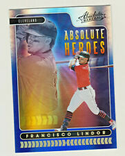 2020 Panini Absolute HEROES SPECTRUM BLUE #AH13 FRANCISCO LINDOR Indians RETAIL