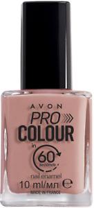 Avon Pro Colour 60 seconds Nail Enamel Mauve It New Rare Nail Polish