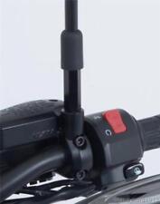 R&G Racing Negro Espejo Elevadores Para Kawasaki Vulcan S, 2015 a 2018
