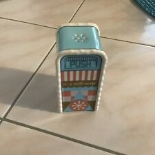 Disney Parks salt and pepper shaker trash can It'S A Small World Brand new