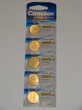 5 Stk Knopfzellen Uhrenbatterien Knopf Zellen Camelion CR2016 DL2016 BR2016 KCR2