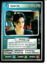 STAR TREK CCG MIRROR MIRROR RARE CARD CAPTAIN DAX
