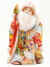 G. DeBrekht Santa Claus 12 Days of Christmas Limited Edition Hand Painted Figure