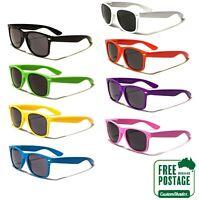 Classic Retro Sunglasses - Coloured Frame (Men's / Women's) Excellent Quality