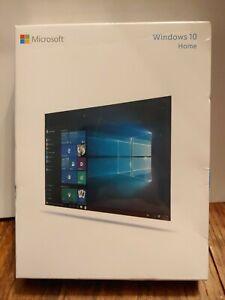 Microsoft Windows 10 Home USB Flash Drive 32-bit/ 64-bit Full Version NEW SEALED
