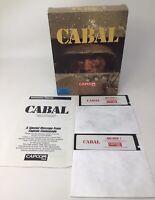 Cabal: Capcom USA - IBM Tandy PC XT AT & 100% Compatibles VERY RARE