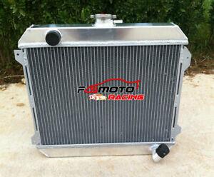3ROW Alu Radiator For Nissan Stanza Datsun 510 610 620 710 720 L20B 2.0 74-79 MT