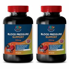 Normalize Blood Pressure Caps - Blood Pressure Complex 690mg - Garlic Tablet 2B