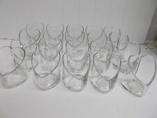 """KW-21 20 4"""" HEART glass candle holders wedding decoration table"""