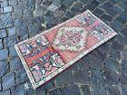 Turkish doormats, Handmade rug, Vintage rug, Carpet, Home decor | 1,4 x 2,8 ft